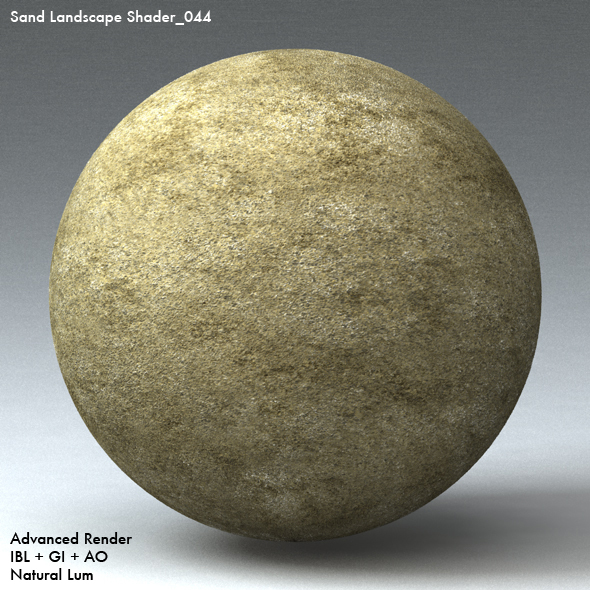 Sand Landscape Shader_044 - 3DOcean Item for Sale