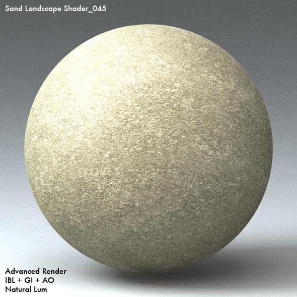 Sand Landscape Shader_045 - 3DOcean Item for Sale