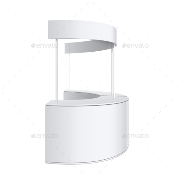 Promotion Counter Retail Trade Stand - Retail Commercial / Shopping
