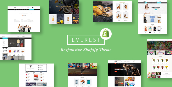 Everest – Multipurpose Responsive Shopify Theme