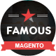 Famous - Responsive Multi-Purpose Magento Theme Nulled