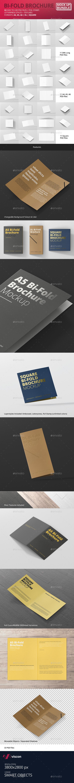 Bi-Fold Brochure Mock-Up Bundle - Brochures Print