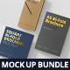 Bi-Fold Brochure Mock-Up Bundle - GraphicRiver Item for Sale