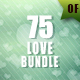 75 Valentine Backgrounds Bundle - GraphicRiver Item for Sale