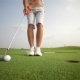 Golfer Making a Putt - VideoHive Item for Sale