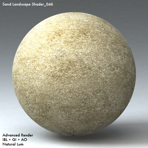 Sand Landscape Shader_046 - 3DOcean Item for Sale