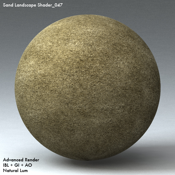 Sand Landscape Shader_047 - 3DOcean Item for Sale