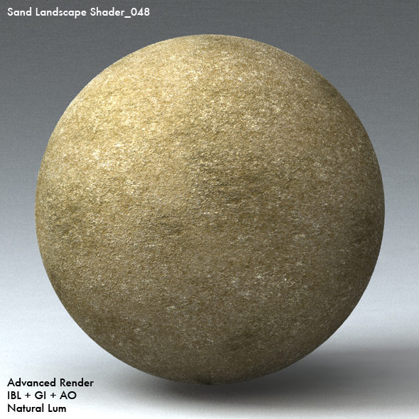 Sand Landscape Shader_048 - 3DOcean Item for Sale