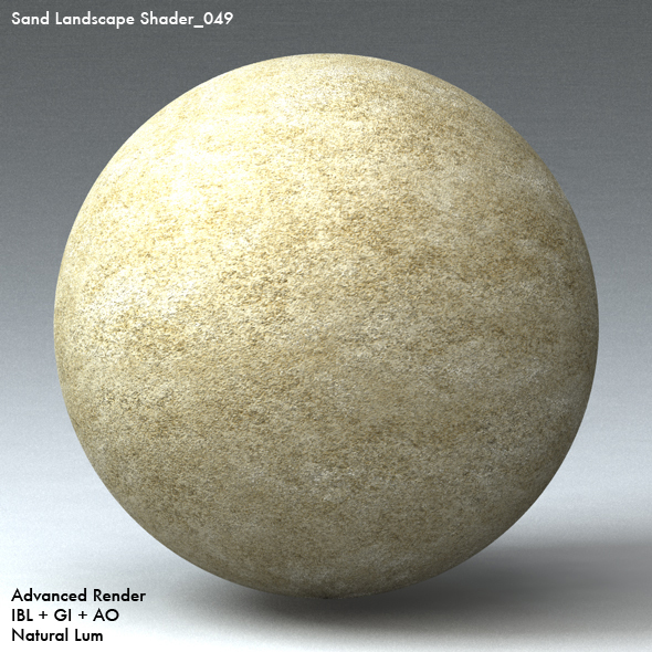 Sand Landscape Shader_049 - 3DOcean Item for Sale