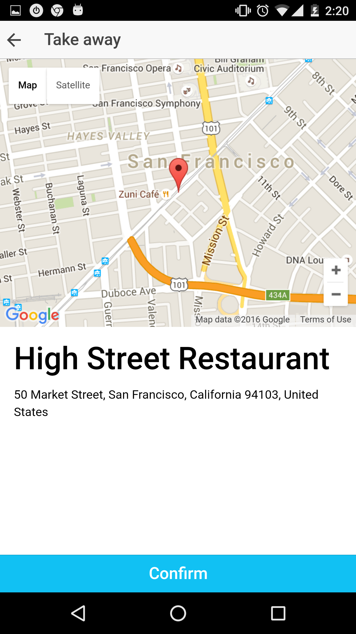 Restaurant Ionic 3 - Full Application with Firebase backend