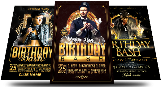 Birthday Flyers