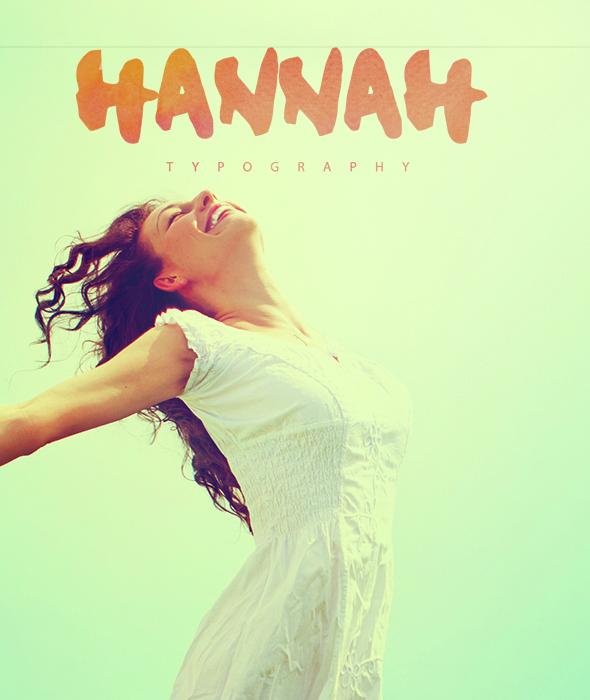 My name is Hannah - Handwriting Fonts
