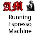 Running Espresso Machine