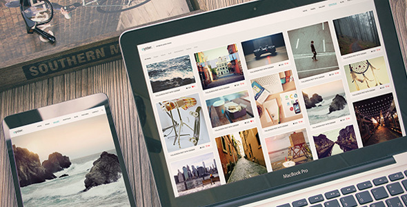 Oyster - Creative Photo WordPress Theme - Photography Creative