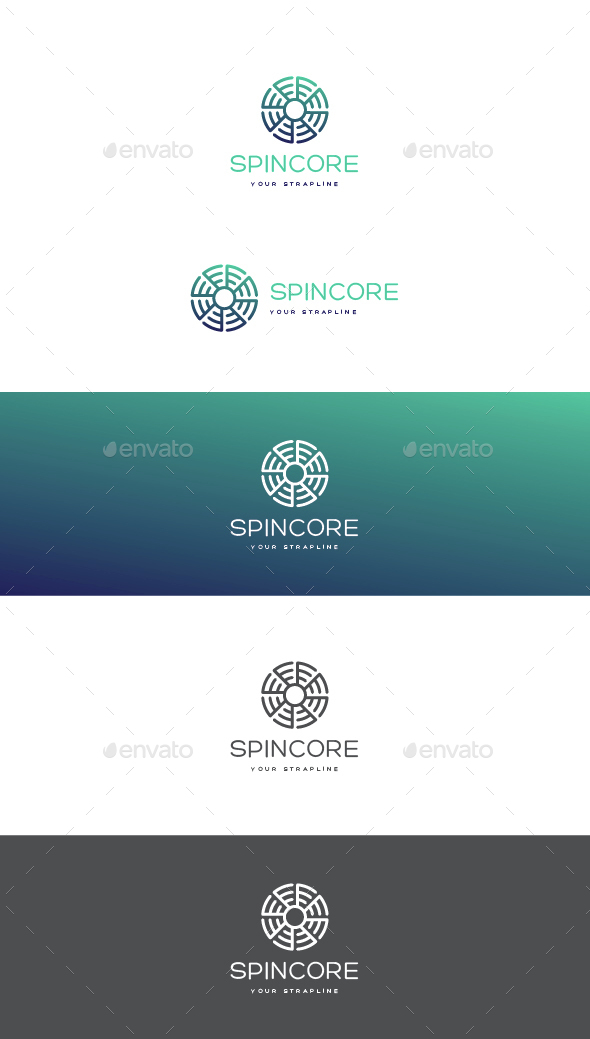 Spincore Logo - Vector Abstract