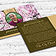Cherry Blossom Funeral Post Card Template - GraphicRiver Item for Sale