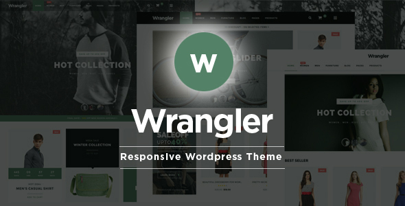 Wrangler Fashion Store - WooCommerce Responsive Theme