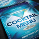 Cocktail Menu - GraphicRiver Item for Sale