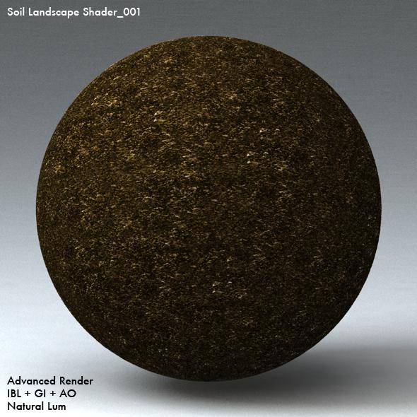 Soil Landscape Shader_001 - 3DOcean Item for Sale
