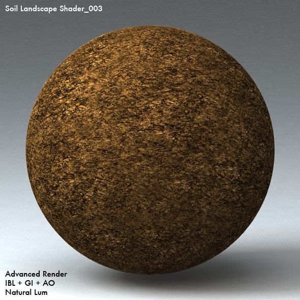 Soil Landscape Shader_003 - 3DOcean Item for Sale