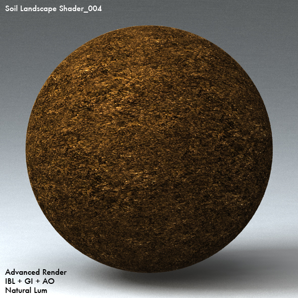 Soil Landscape Shader_004 - 3DOcean Item for Sale