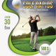 Golf Flyer Template 06
