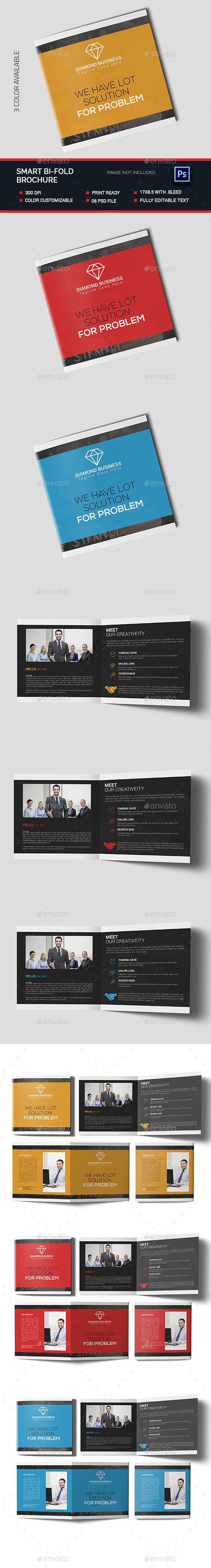 Smart Bi-fold Brochure - Brochures Print Templates