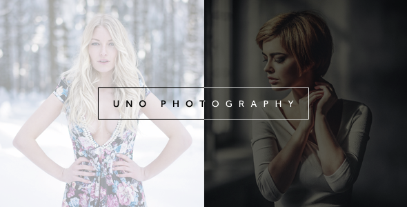 Uno - Creative Photography Template