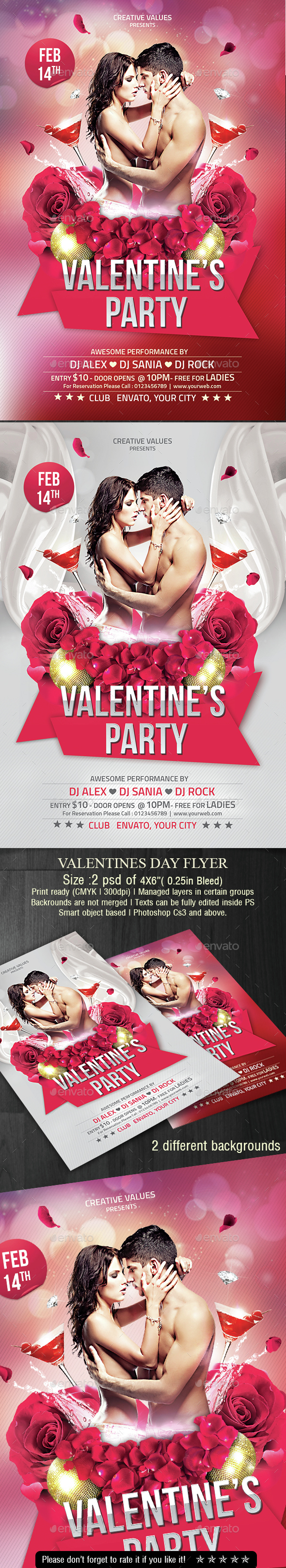 Valentines Day  - Clubs & Parties Events