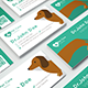 Veterinary Business Card - GraphicRiver Item for Sale