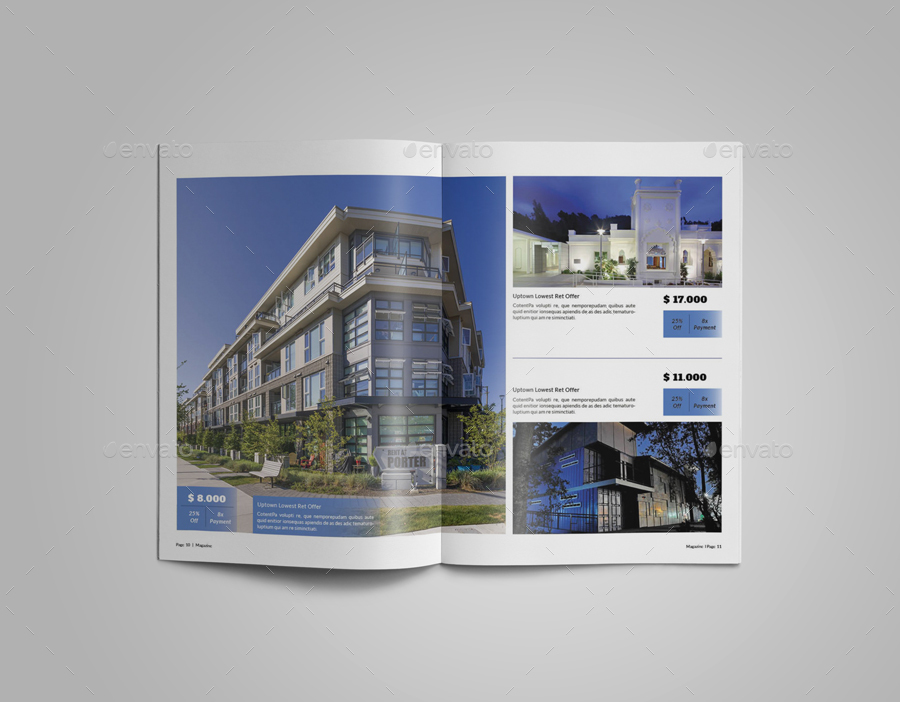 multipurpose real estate catalogue template vol iii by artificialace