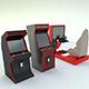 Commercial arcade machine - 3DOcean Item for Sale