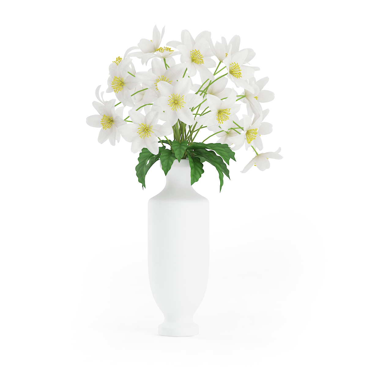 White flowers in tall vase by cgaxis 3docean white flowers in tall vase 3docean item for sale cgaxismodels6325a gridg mightylinksfo