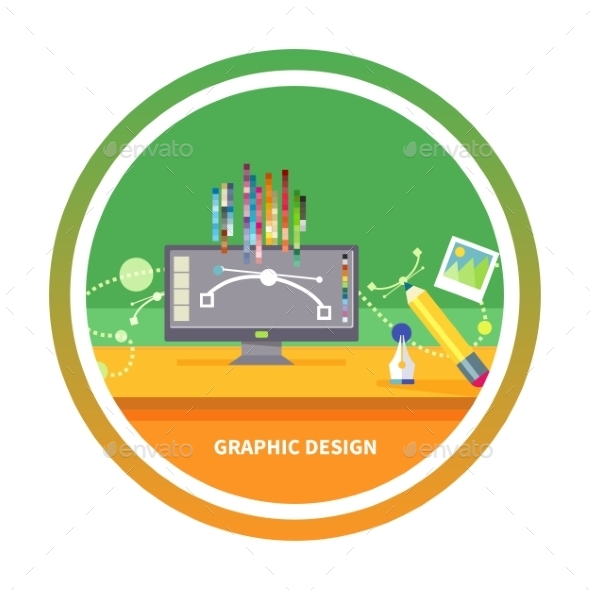 Graphic Design And Designer Tools - Web Technology