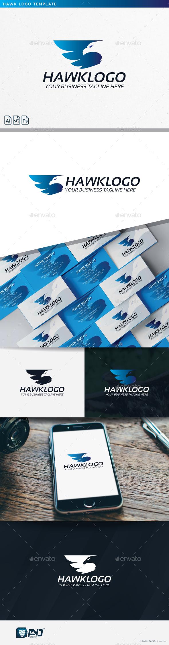 Hawk Logo - Symbols Logo Templates