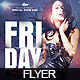 Flyer Friday Night Girls - GraphicRiver Item for Sale