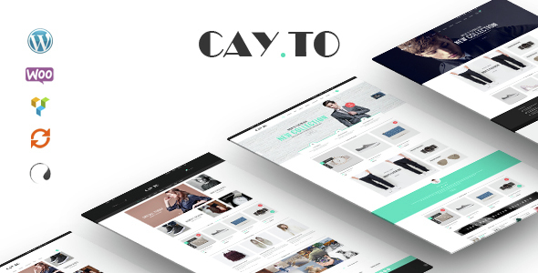 Cayto - The Best WooCommerce Responsive WordPress Theme - WooCommerce eCommerce