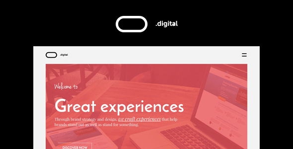 O Digital – Creative Portfolio WordPress Theme