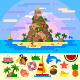 Fantastic Summer Paradise Island!  - GraphicRiver Item for Sale
