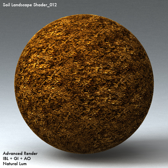 Soil Landscape Shader_012 - 3DOcean Item for Sale