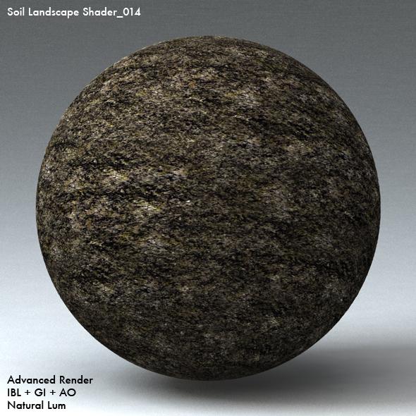 Soil Landscape Shader_014 - 3DOcean Item for Sale