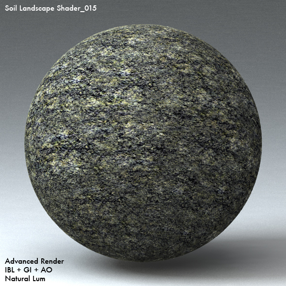 Soil Landscape Shader_015 - 3DOcean Item for Sale