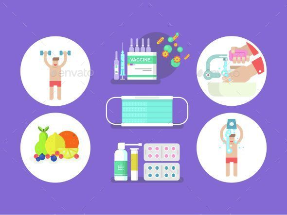 Fighting Against Influenza - Health/Medicine Conceptual