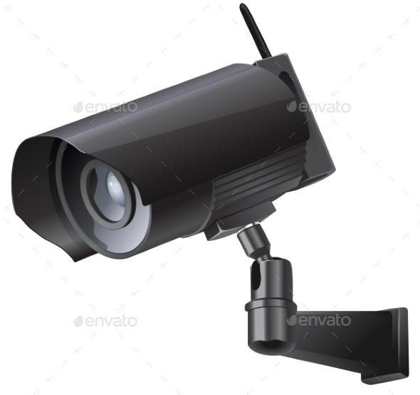 Video Surveillance Sign CCTV Camera - Media Technology