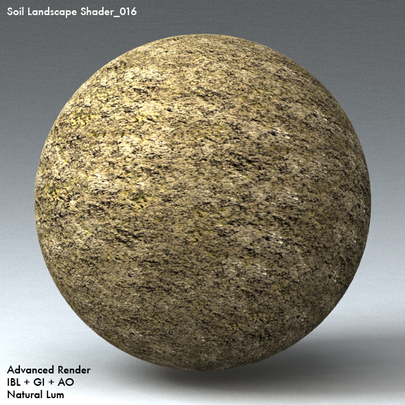 Soil Landscape Shader_016 - 3DOcean Item for Sale