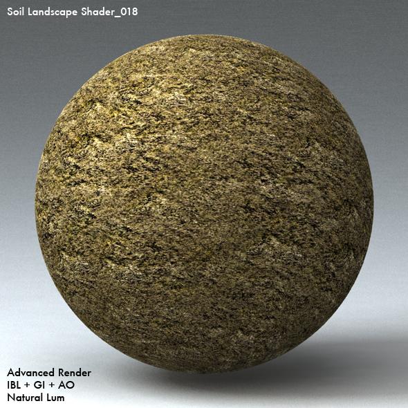Soil Landscape Shader_018 - 3DOcean Item for Sale