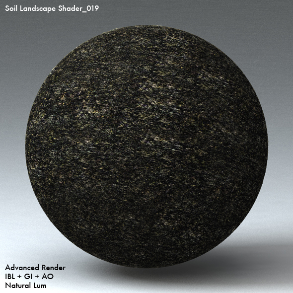 Soil Landscape Shader_019 - 3DOcean Item for Sale