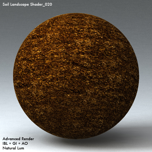 Soil Landscape Shader_020 - 3DOcean Item for Sale
