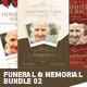Funeral / Memorial Program Templates - BUNDLE V.2