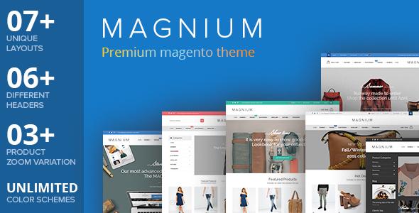 Magnium – Multi-Purpose Premium Responsive Magento Theme
